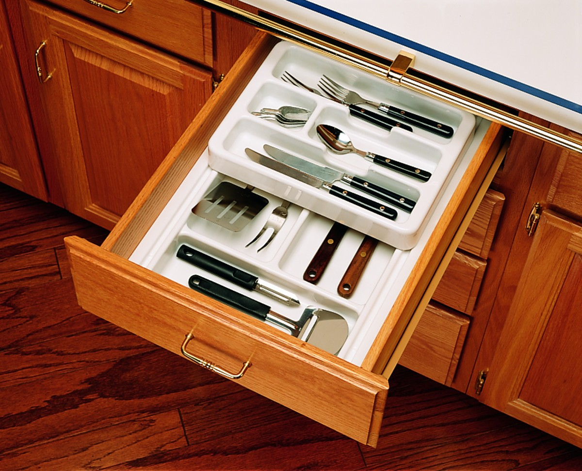 Picture of: Cutlery Tray With Half Rolling Types