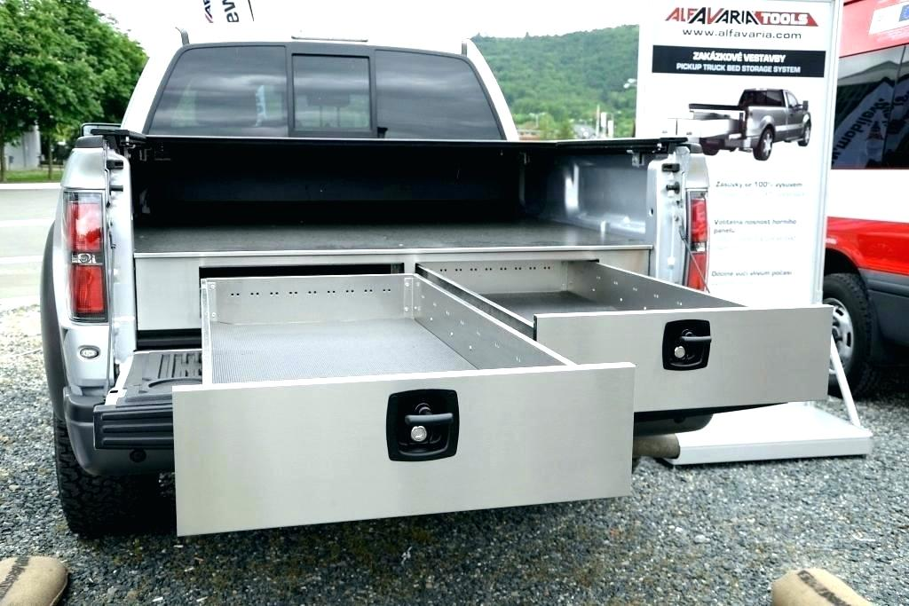 Picture of: DIY Slide Out Truck Bed Storage Model