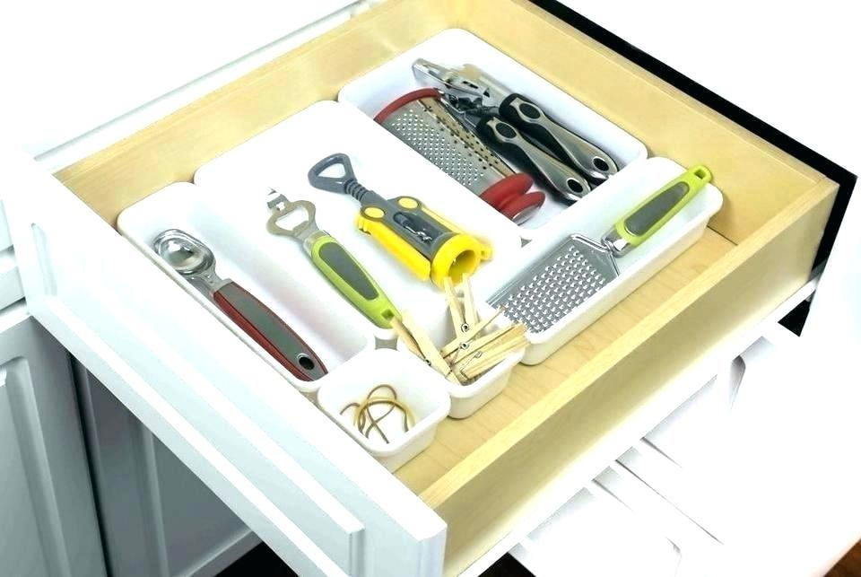 Image of: Deep Drawer Organizer Tray