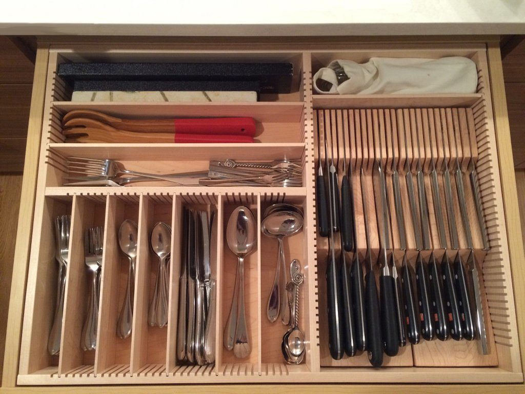 Picture of: Deep Kitchen Drawer Organizer Types