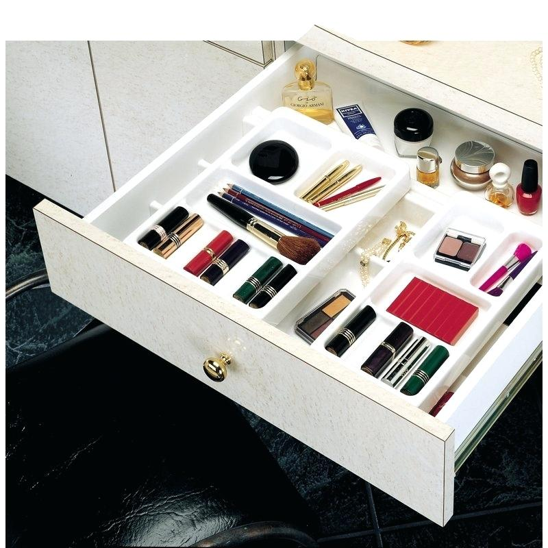 Image of: Desk Vanity Drawer