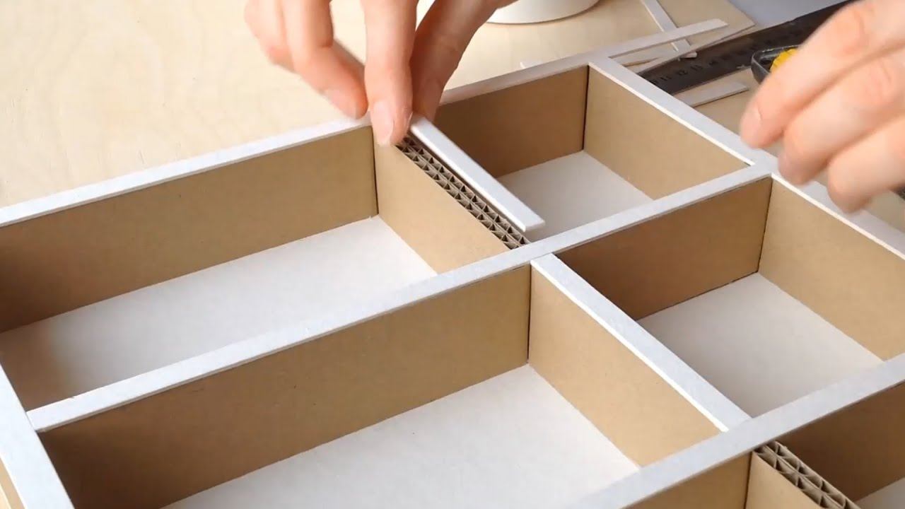Diy Box Shallow Drawer