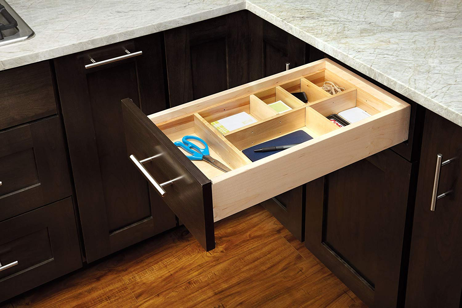 Picture of: Double Decker Drawer Organizer