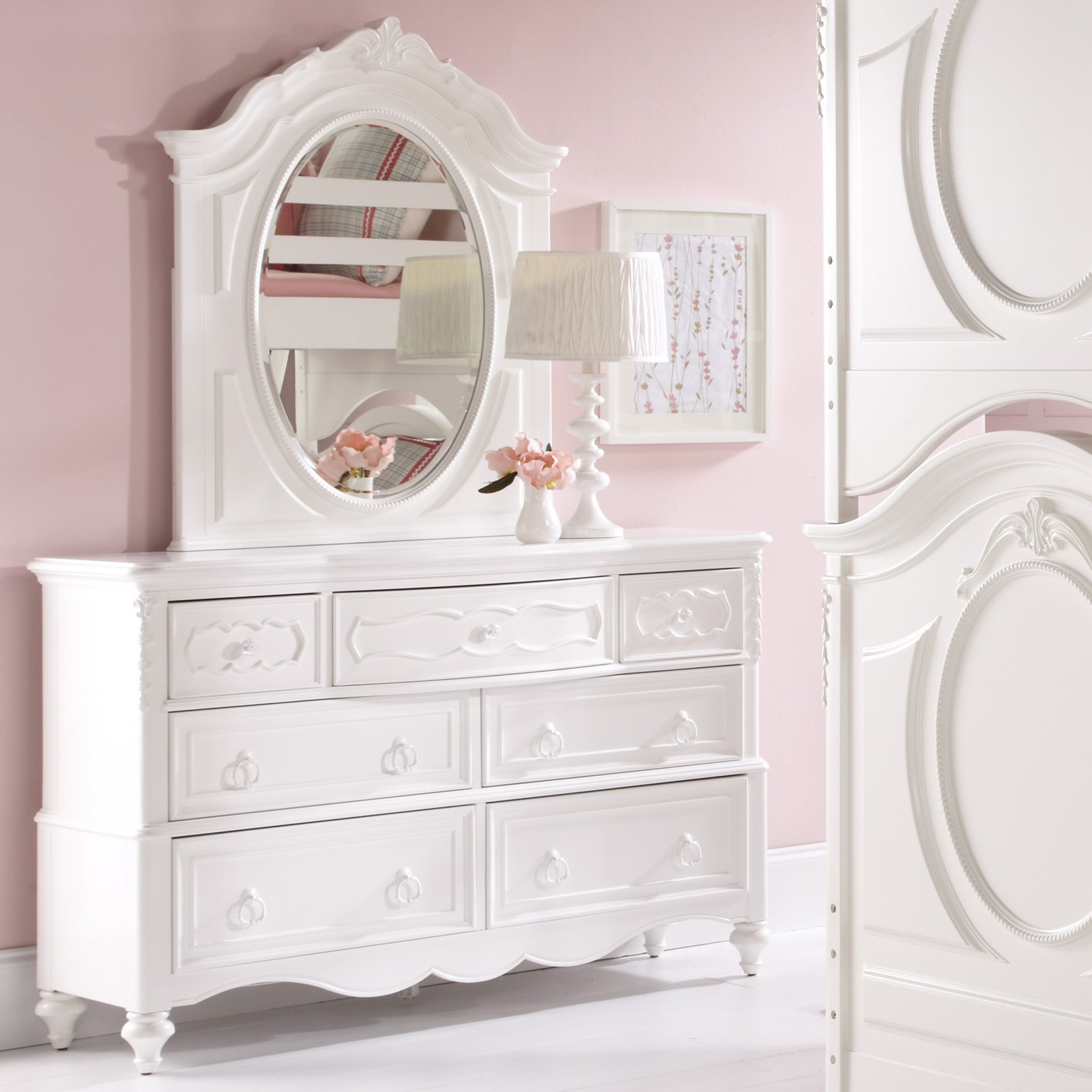 Picture of: Drawer Dresser Mirror