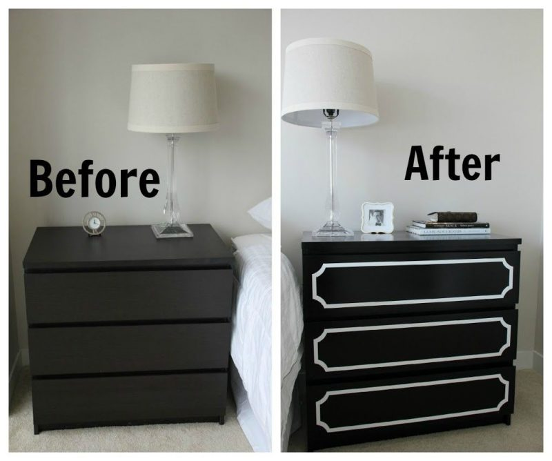 Picture of: Drawer Dresser Paint