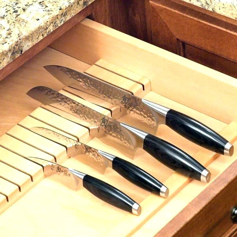 Picture of: Drawer Knife Organizer
