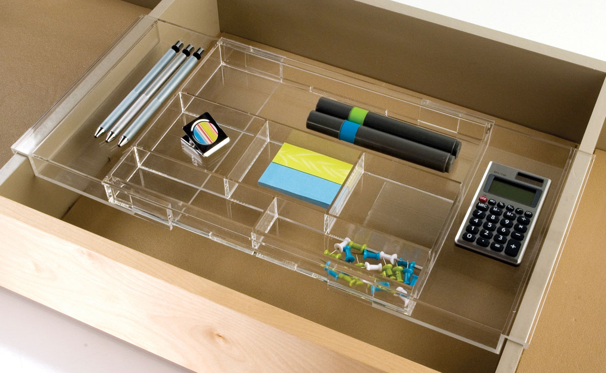 Expandable Desk Drawer Organizer Ideas