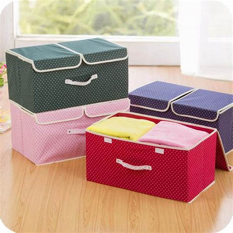 Picture of: Fabric Clothing Drawer Organizer