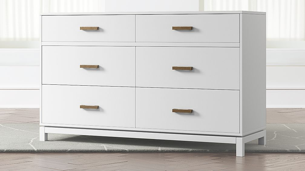 Image of: Famous White Drawer Chest