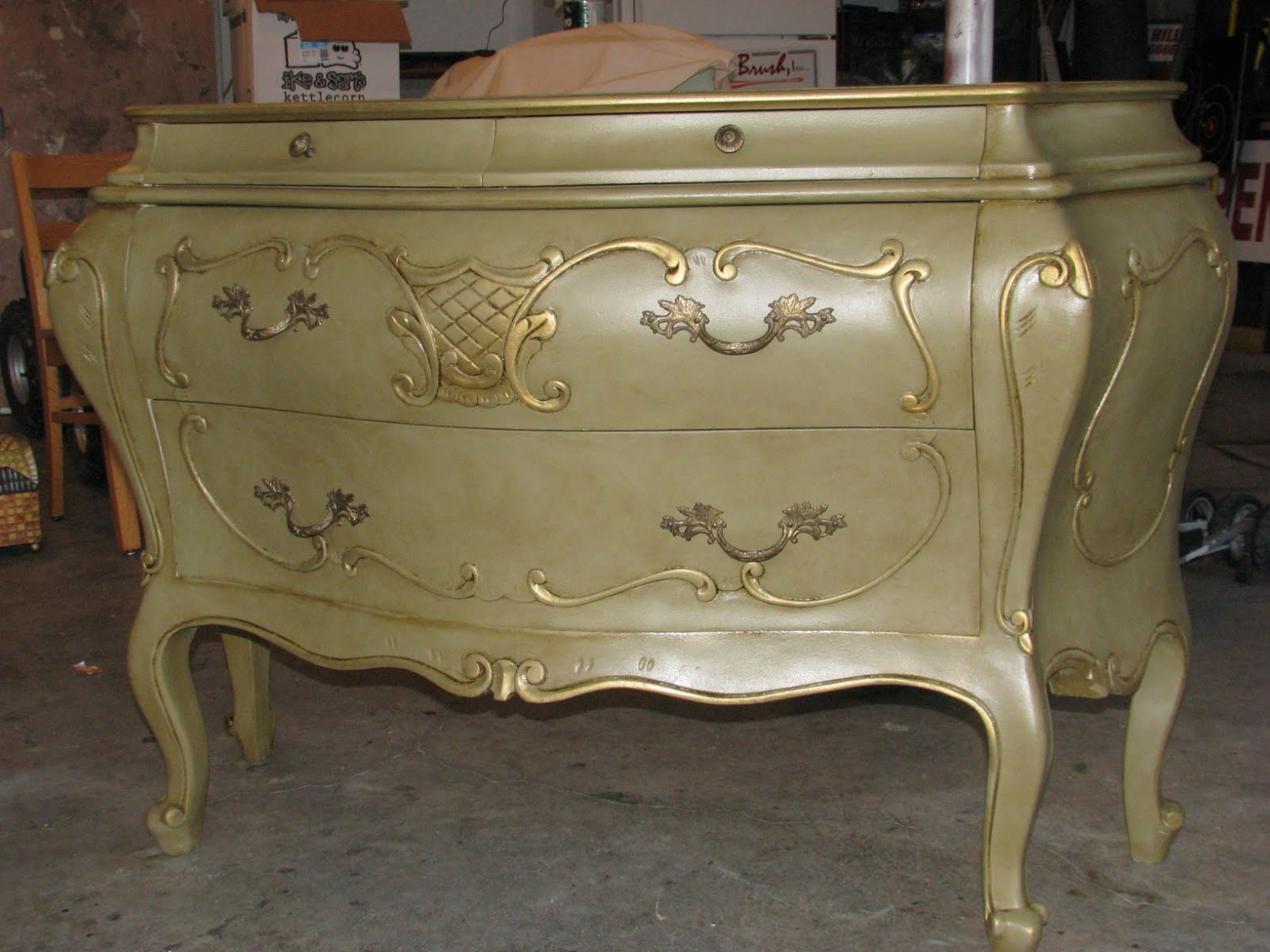 Image of: Furniture Glaze Chest