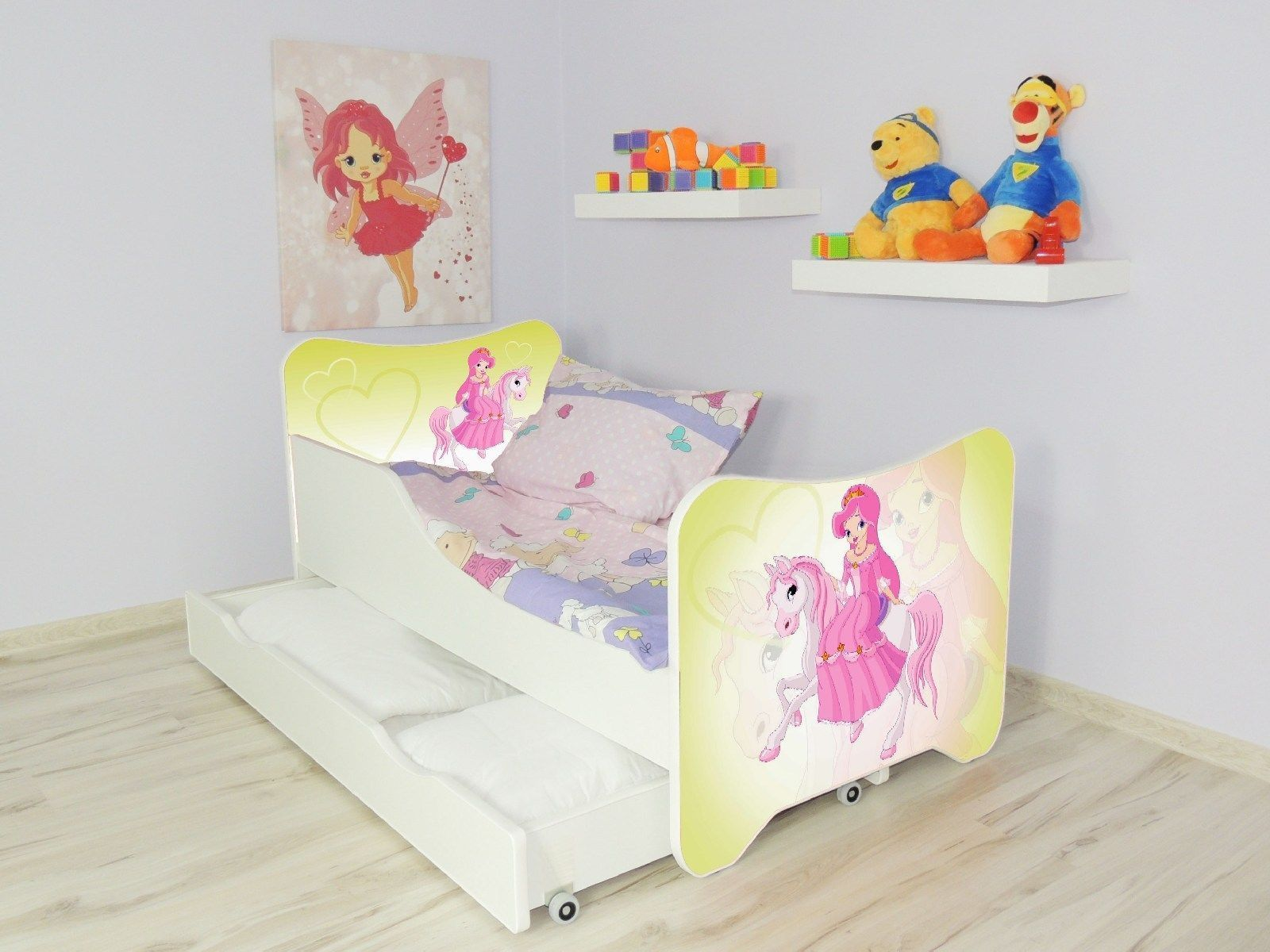 Picture of: Girls Single Bed With Mattress