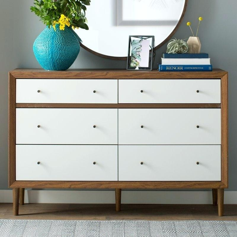 Image of: Great Malm 6 Drawer Chest