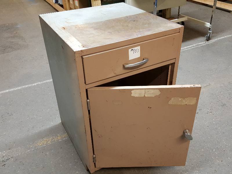 Image of: Heavy Duty Metal Storage Cabinet With Drawers