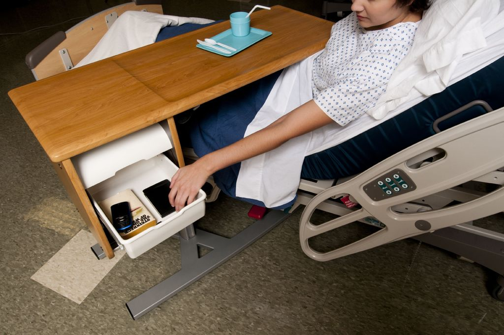 Picture of: Heavy Duty Overbed Table