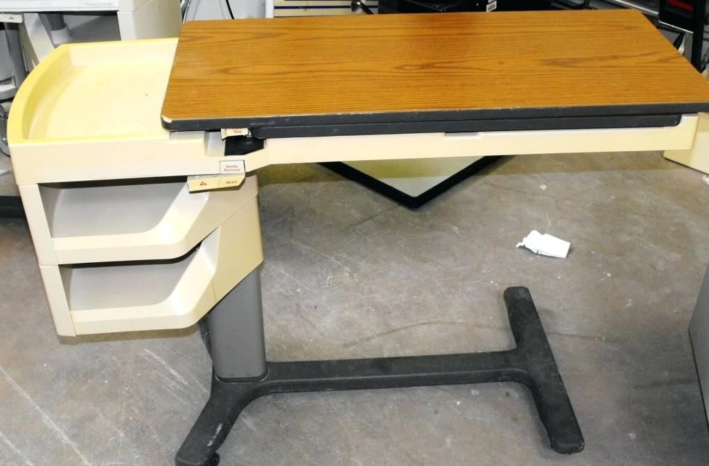 Picture of: Hill Rom Overbed Table