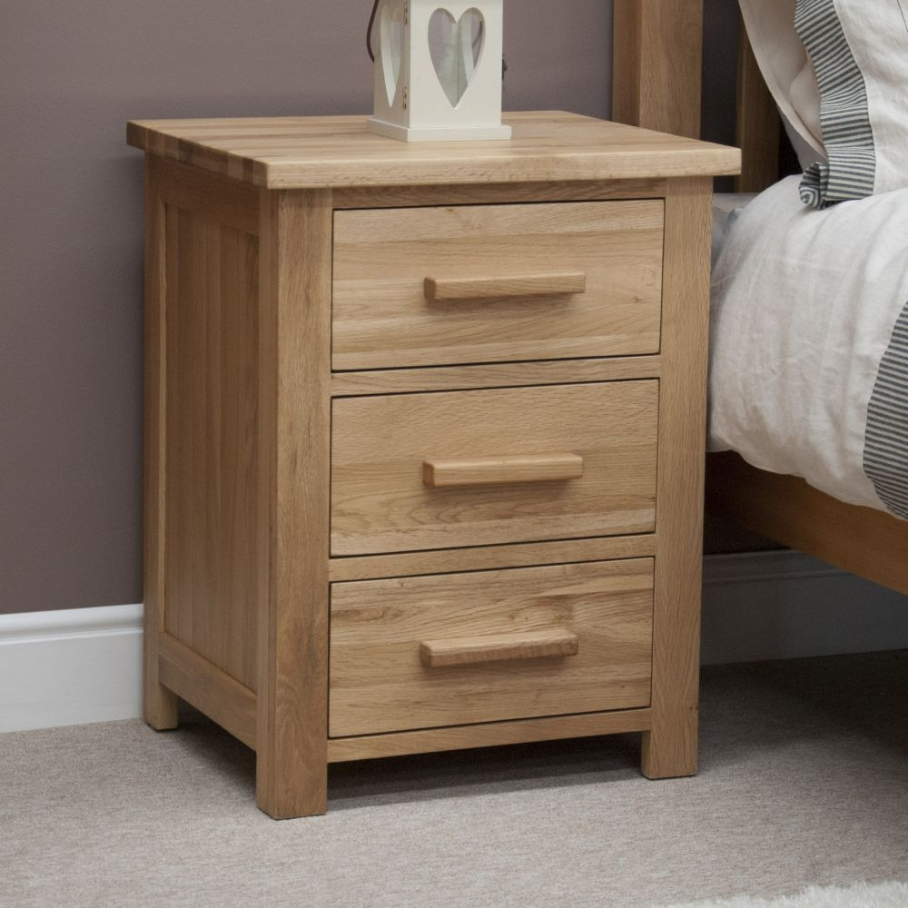 Image of: Homestyle Bed Side Table with Drawer