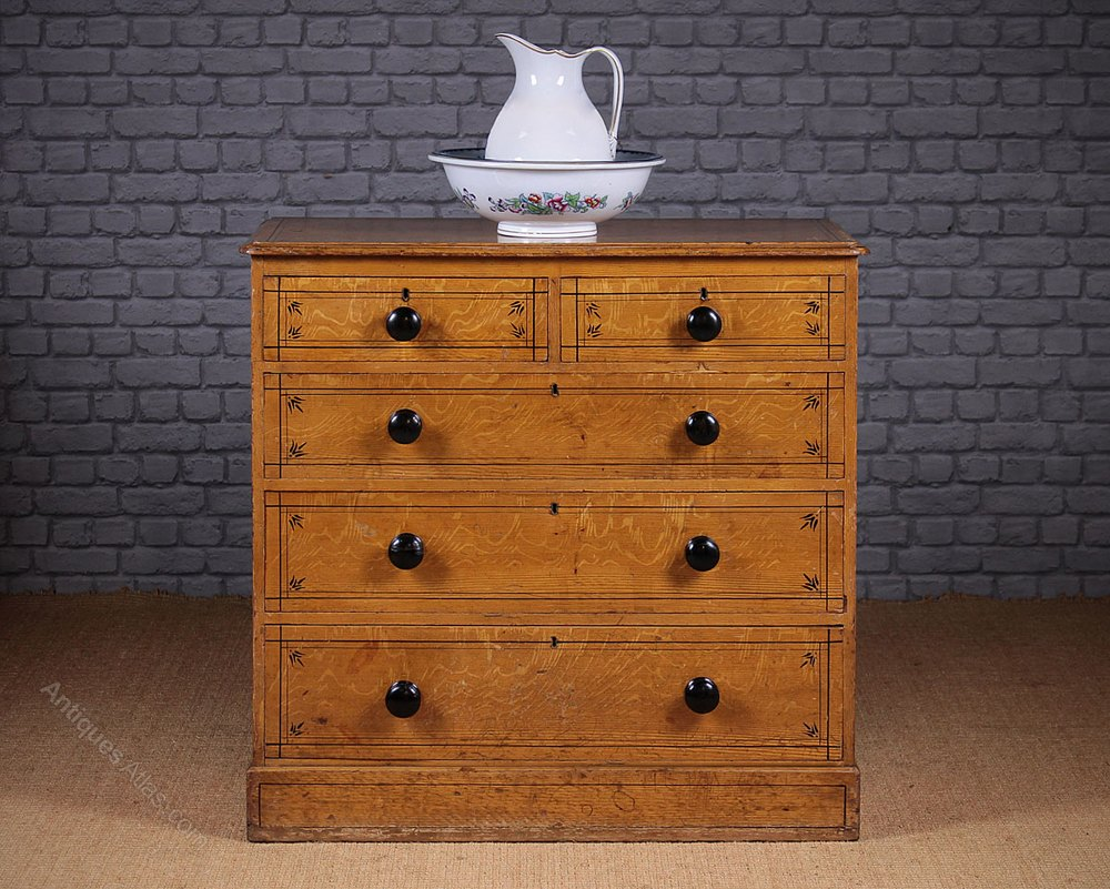 Image of: Honey Pine Chest Of Drawers Furniture
