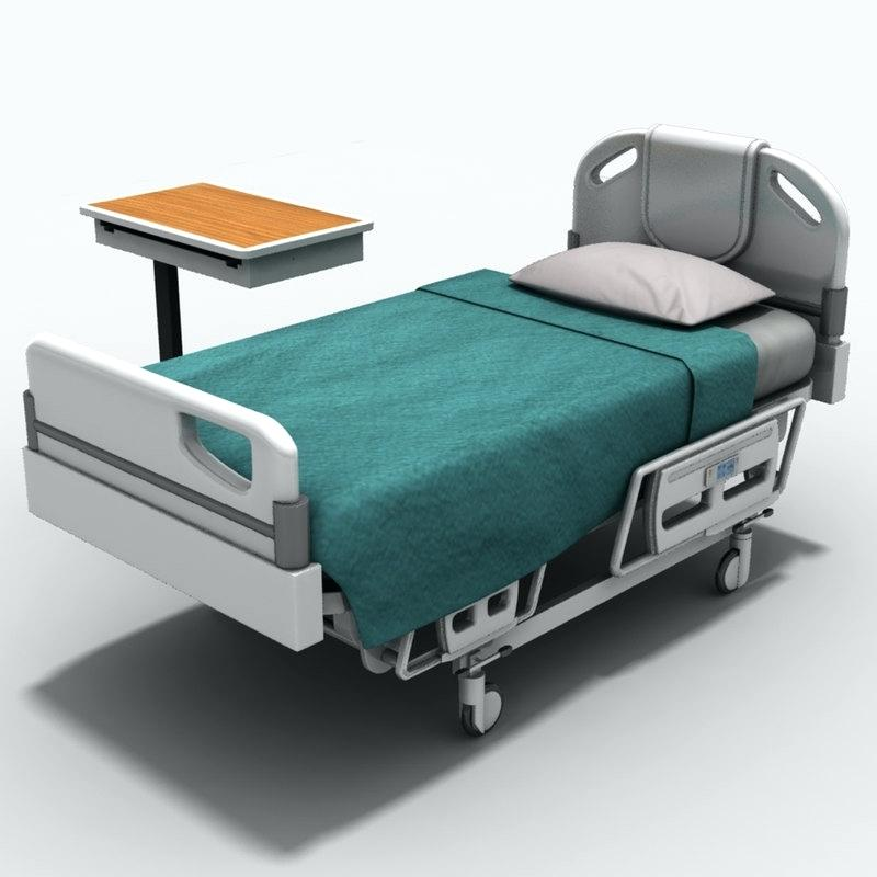 Picture of: Hospital Bed Table
