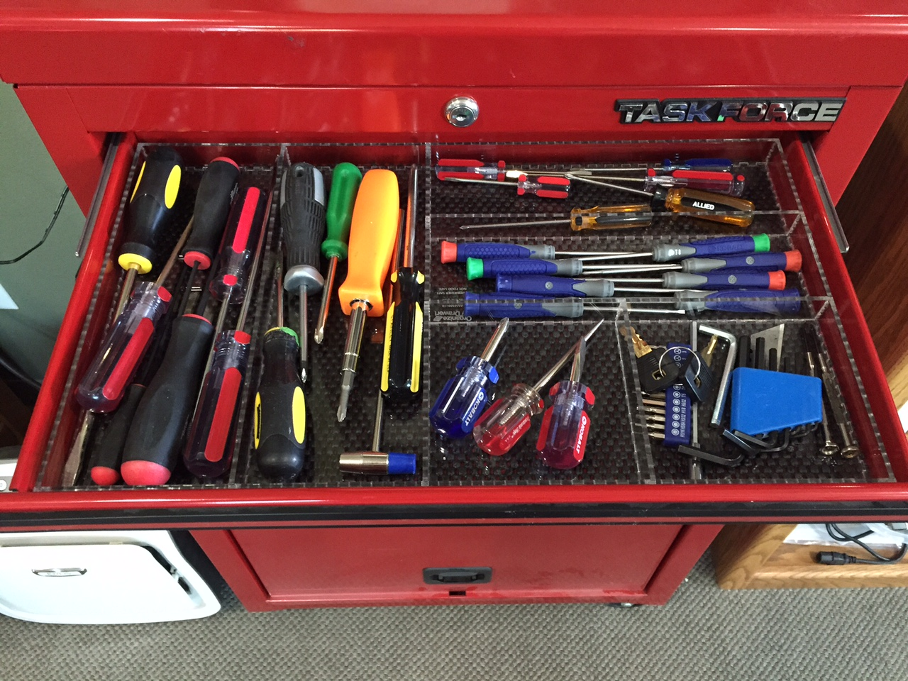 Husky Tool Box Drawer Dividers Set