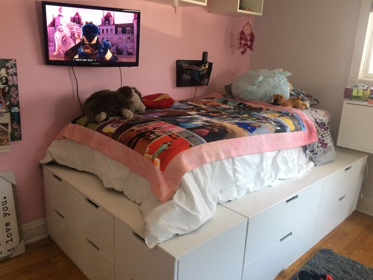 Picture of: IKEA Drawer Bed Design Ideas
