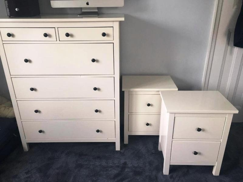 Picture of: Ikea Hemnes Dresser 6 Drawer White Design