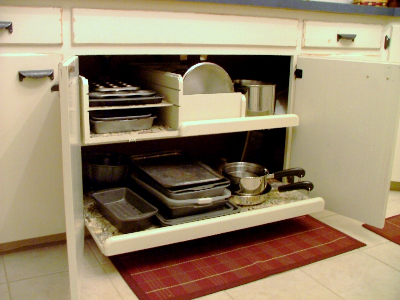 Image of: Ikea Pull Out Cabinet