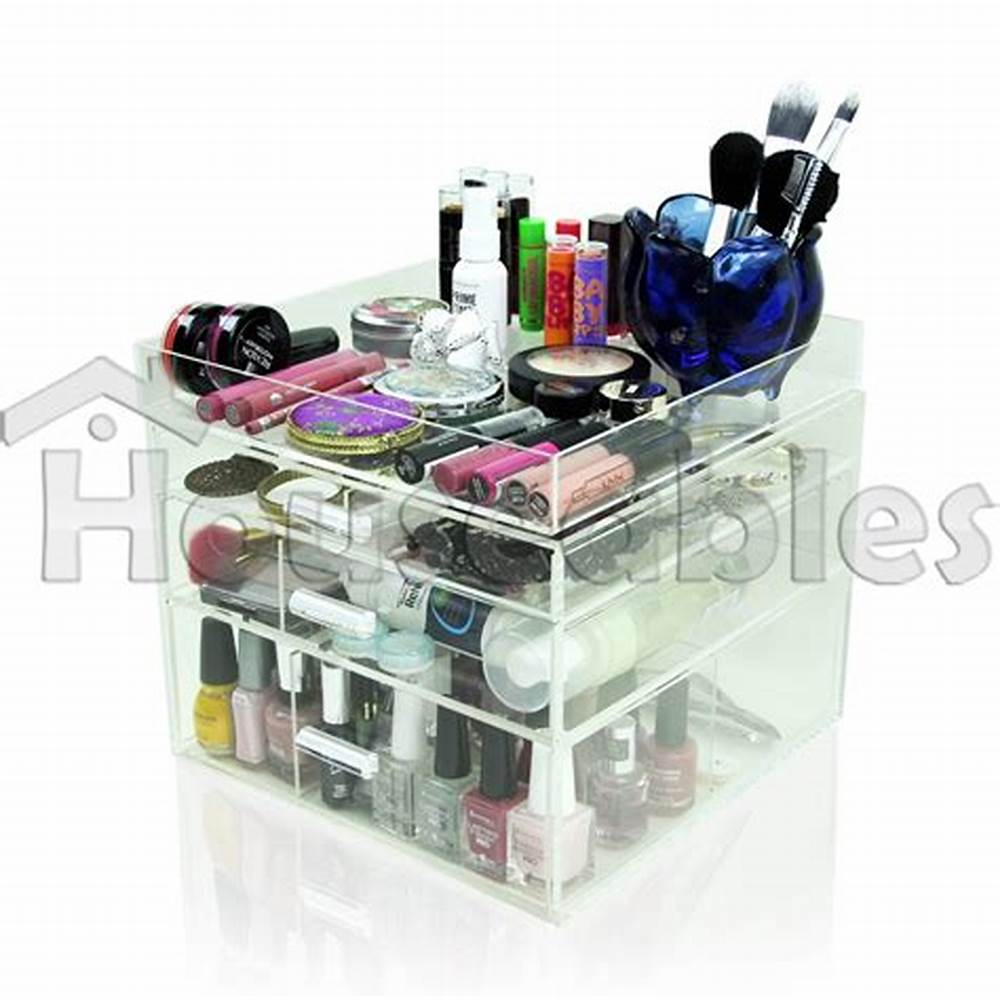Picture of: Image Clear Drawer Organizer