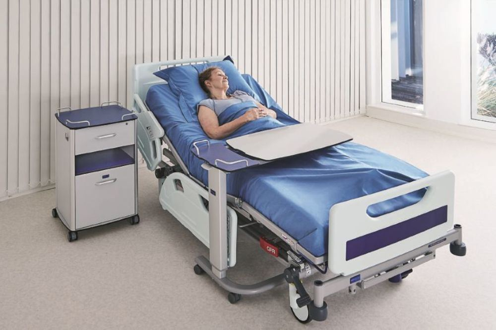 Picture of: Invacare Bedside Table