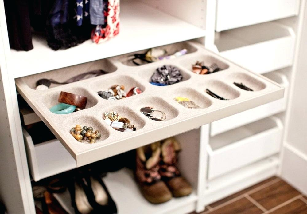 Image of: Jewelry Stackable Drawer Organizer