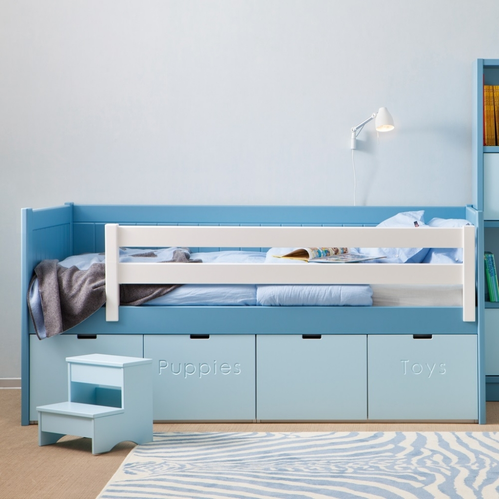 Picture of: Kid Bed Toy Storage