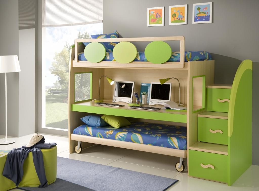 Picture of: Kids Storage in Bedroom