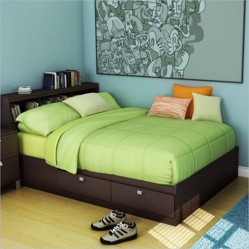 Picture of: Kids Twin Bed Storage