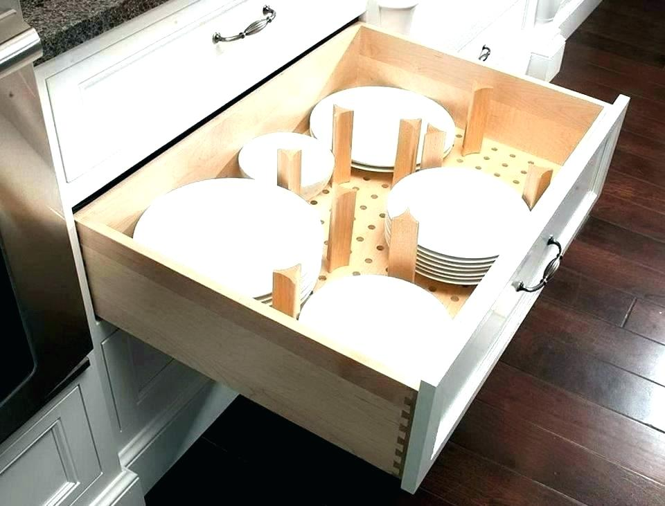 Image of: Kitchen Custom Drawer Organizer