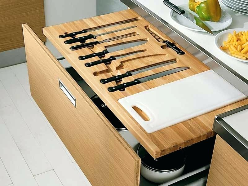 Picture of: Knife Set Storage