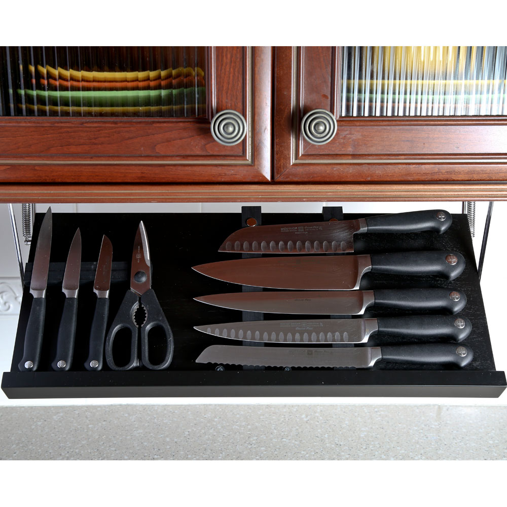 Picture of: Knife Storage Black