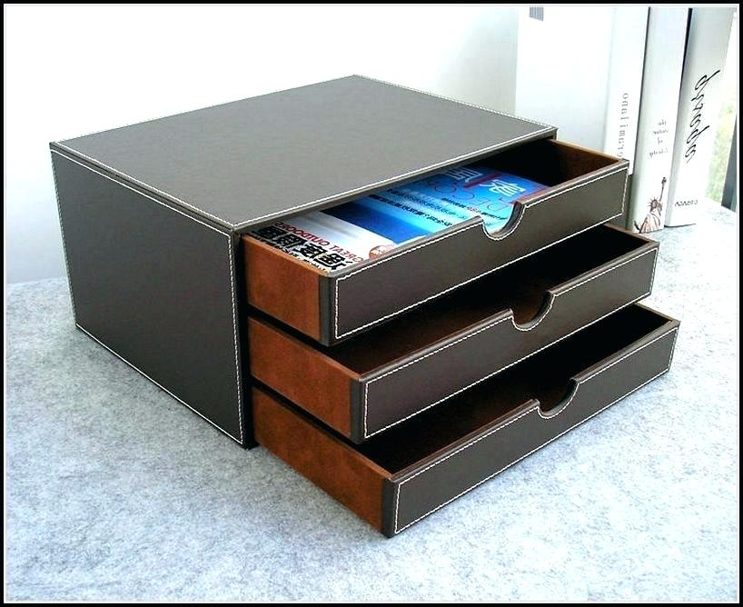 Image of: Leather Drawer Tray