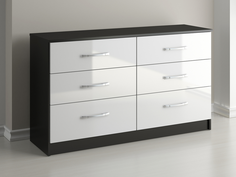 Picture of: Luxury 6 Drawer Chest of Drawers