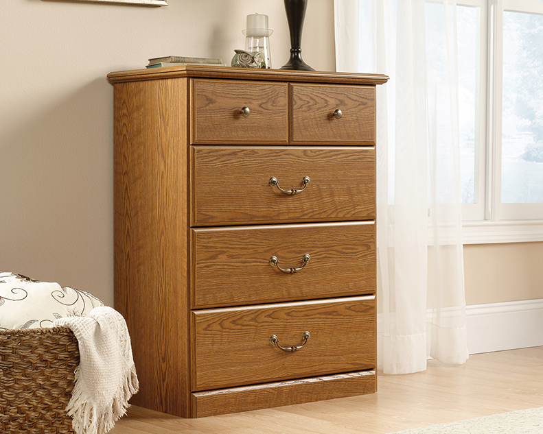 Picture of: Mainstays 4 Drawer Dresser Assembly