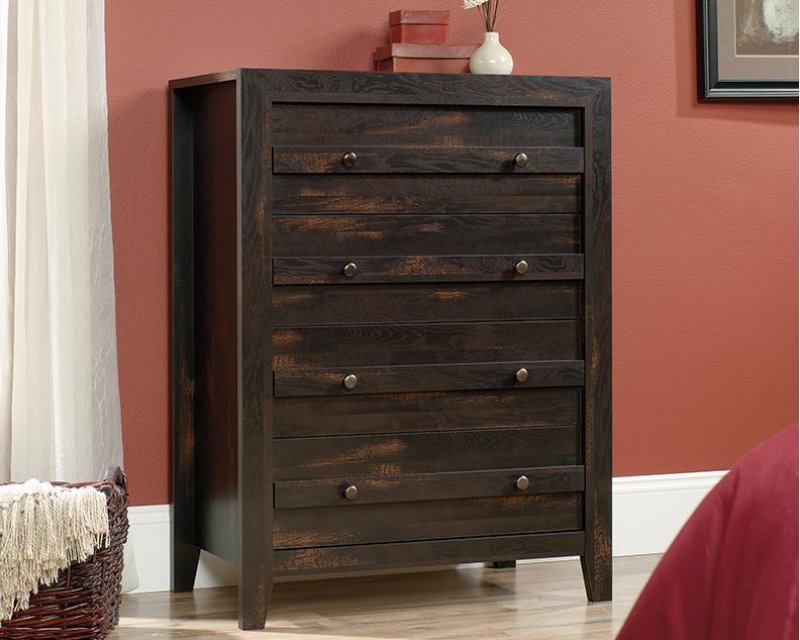 Picture of: Mainstays 4-Drawer Dresser, Espresso