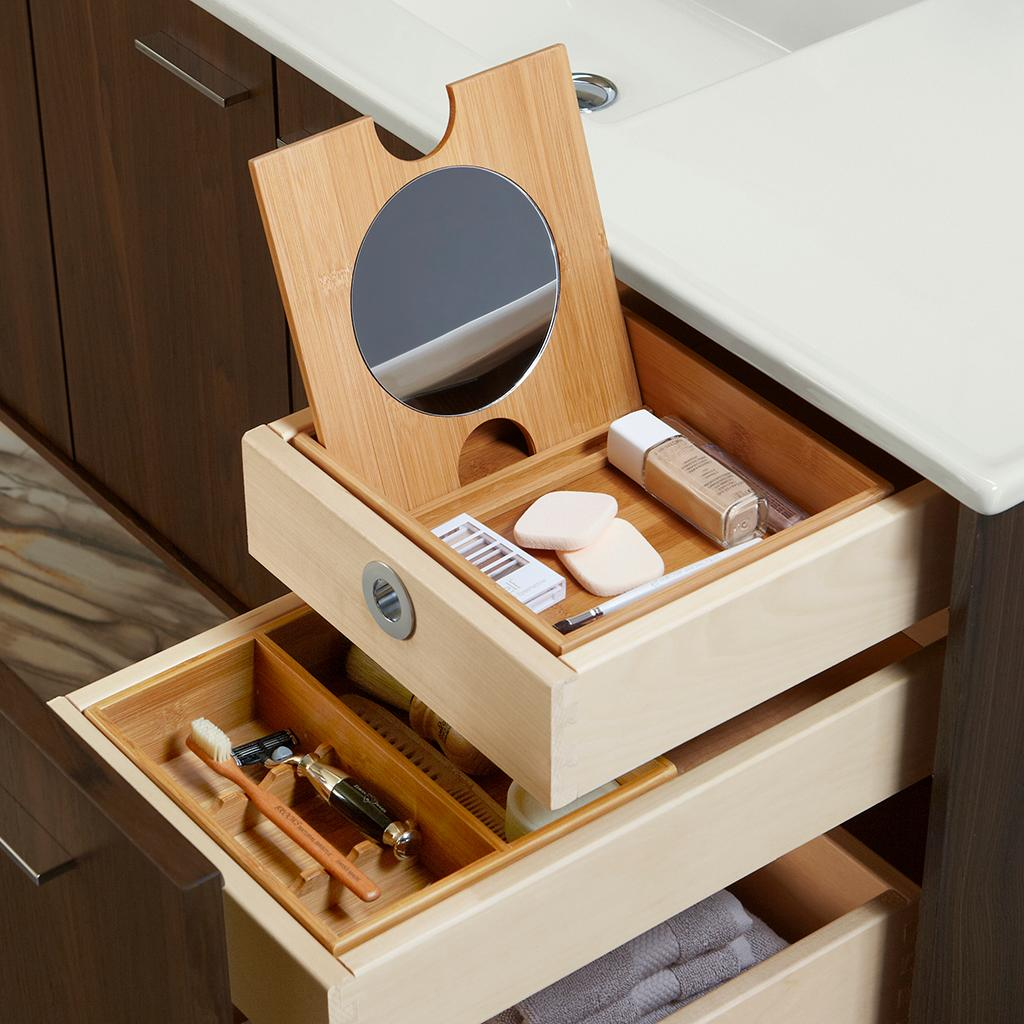 Image of: Makeup Vanity Drawer Organizer