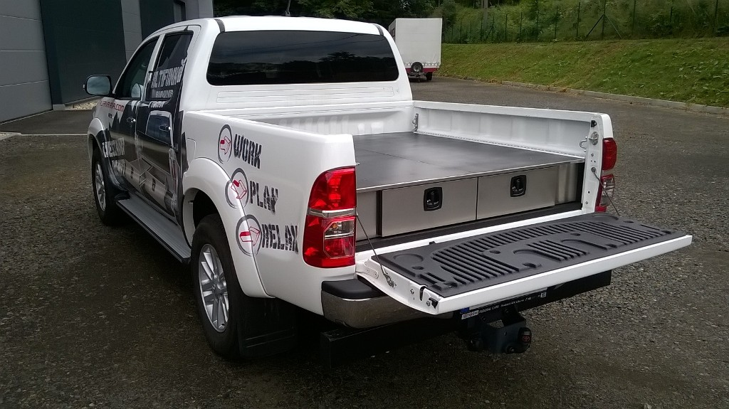 Image of: Metal Truck Bed