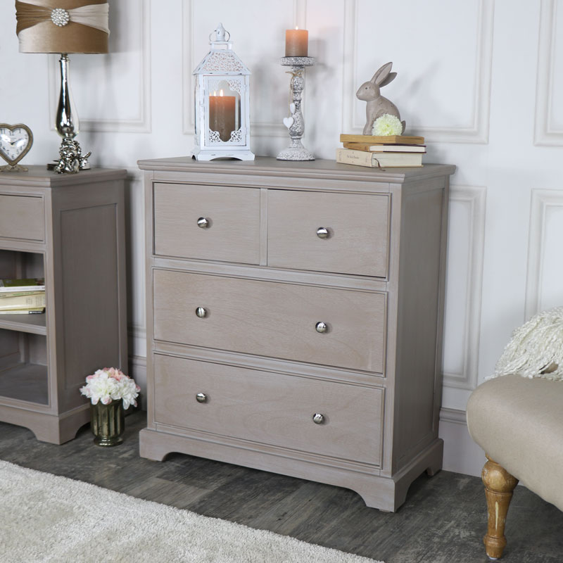 Image of: Modern 4 Drawer Chest