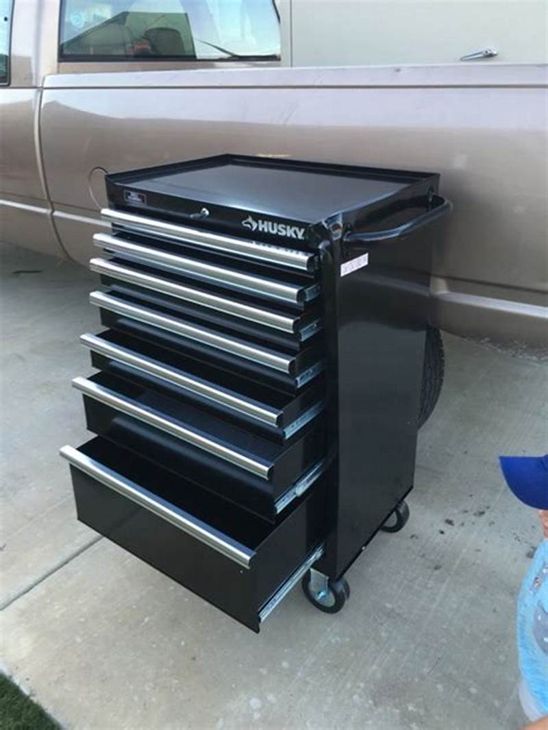 Image of: Modern 5 Drawer Tool Chest