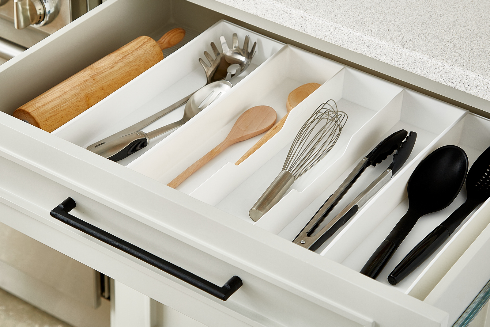 Modern Kitchen Flatware Drawer Organizer