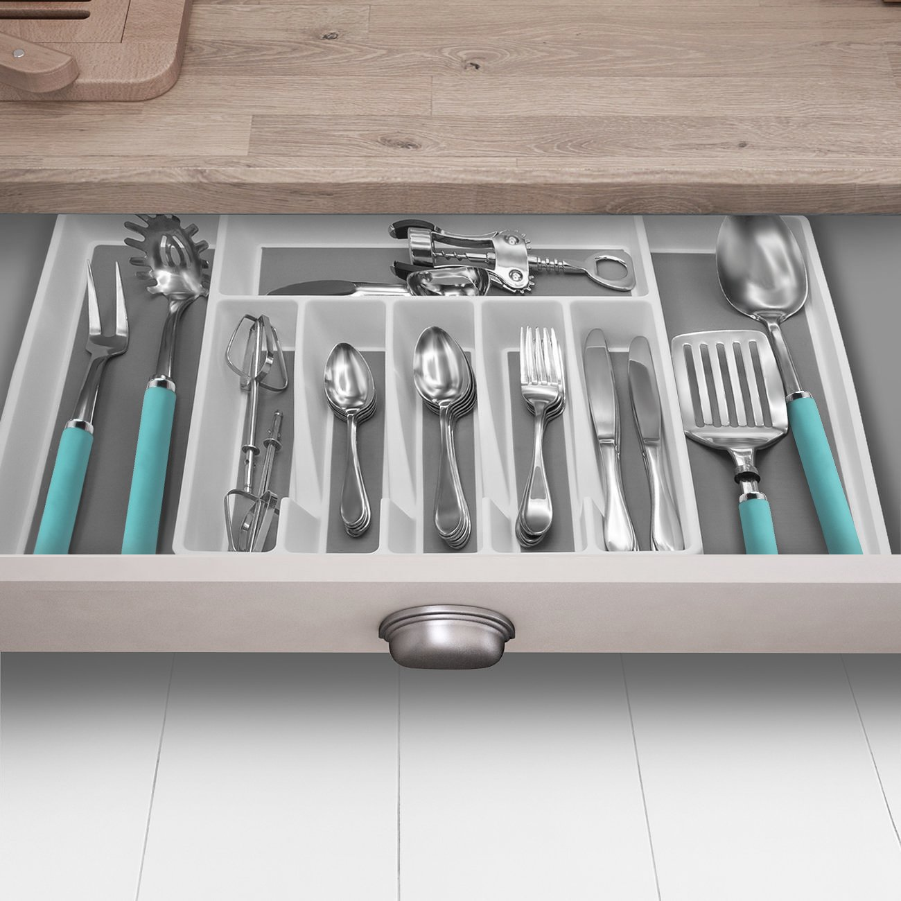 Multi Drawer Organizer Kitchen