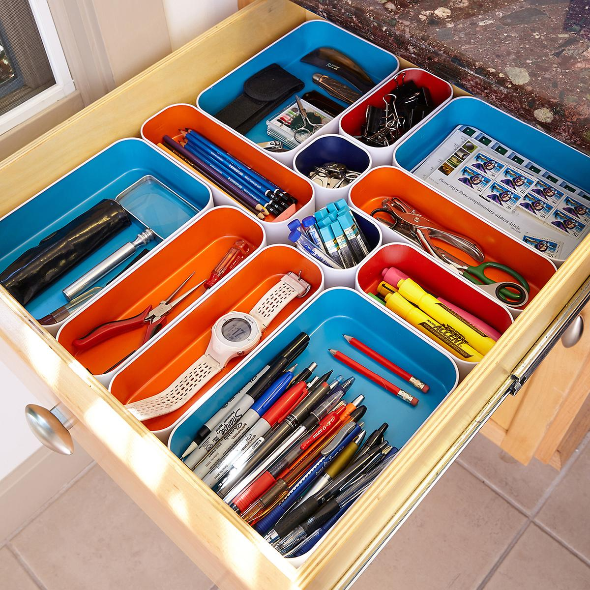 Picture of: Office Drawer Organizer Ideas