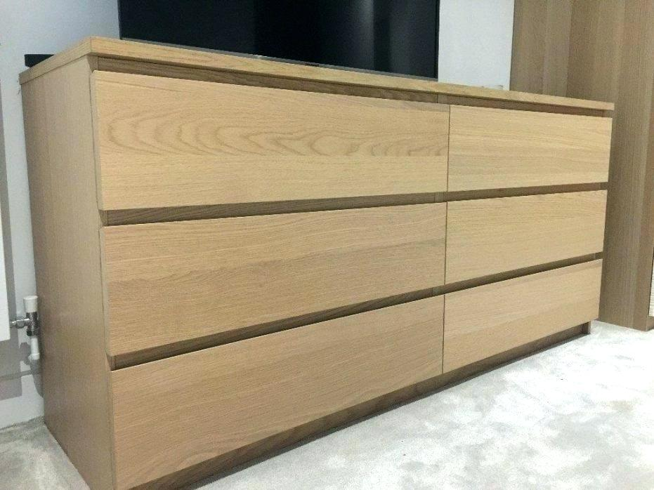 Image of: Perfect Malm 6 Drawer Chest