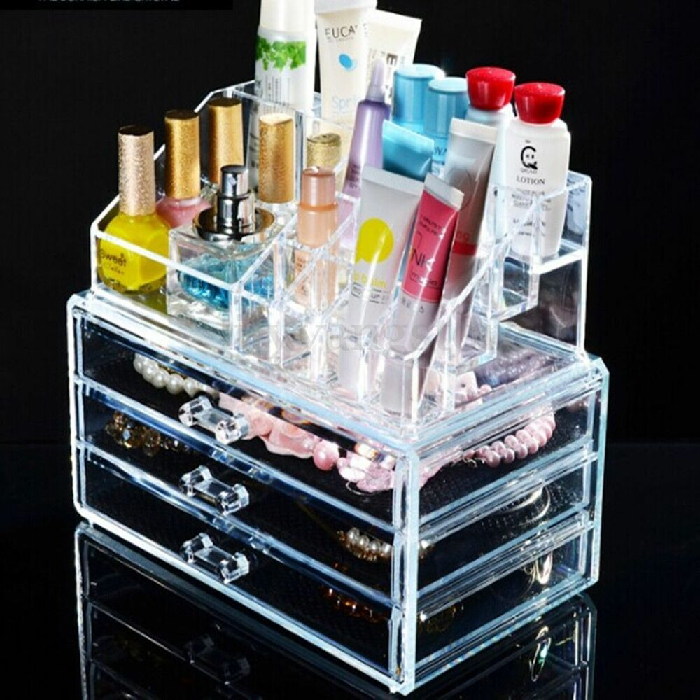 Picture of: Picture Clear Drawer Organizer