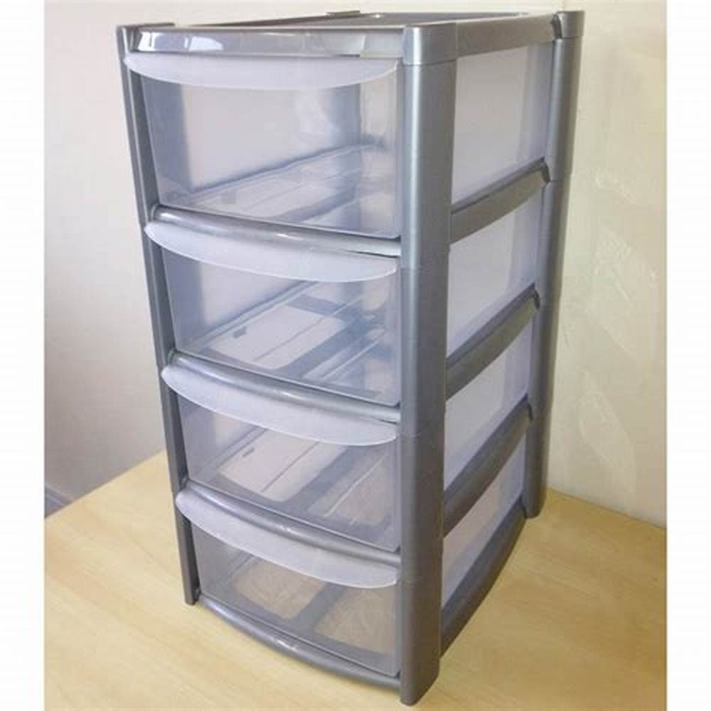 Picture of: Plastic Clothing Drawer Organizer