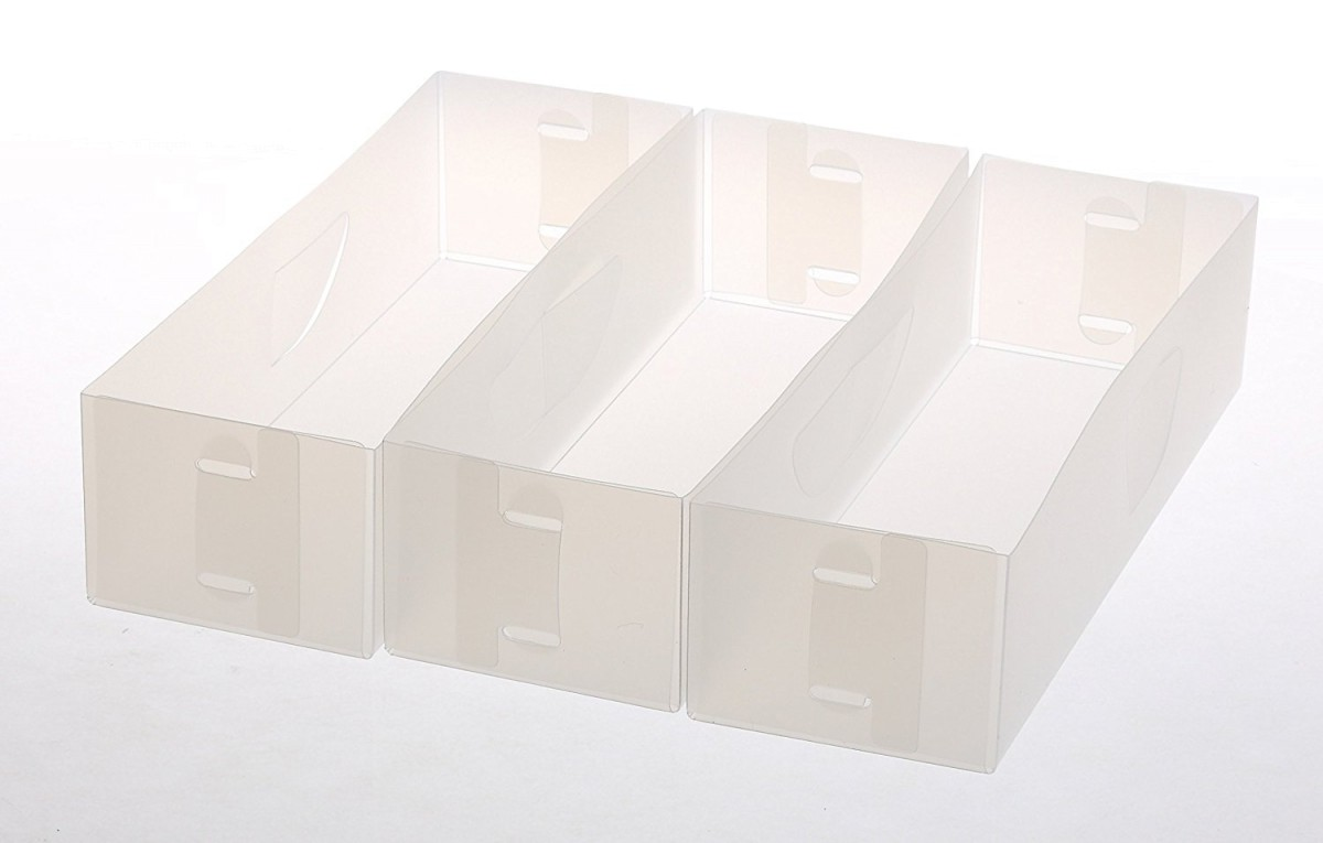 Picture of: Plastic Drawer Organizer For Clothes